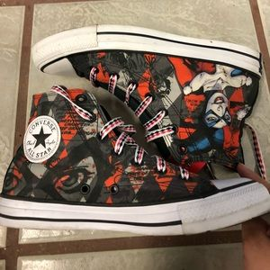 Harley Quinn DC collection converse